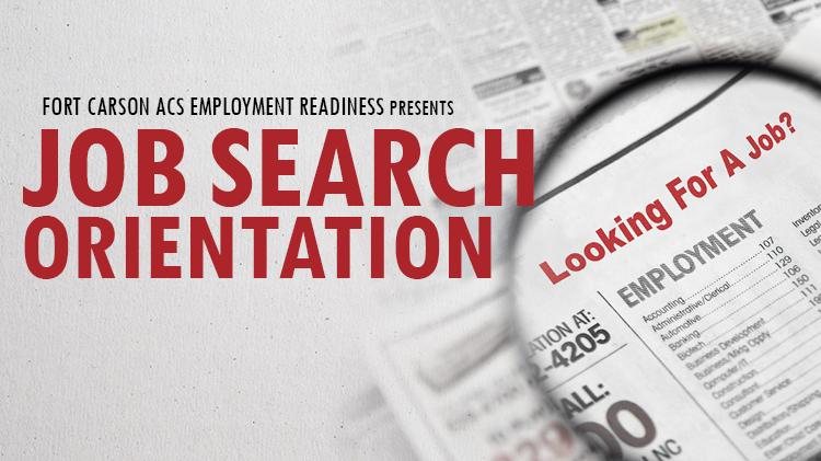 Job Search Orientation