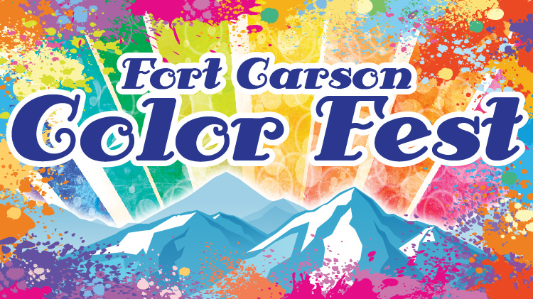 Fort Carson Color Fest: April 13, 2019