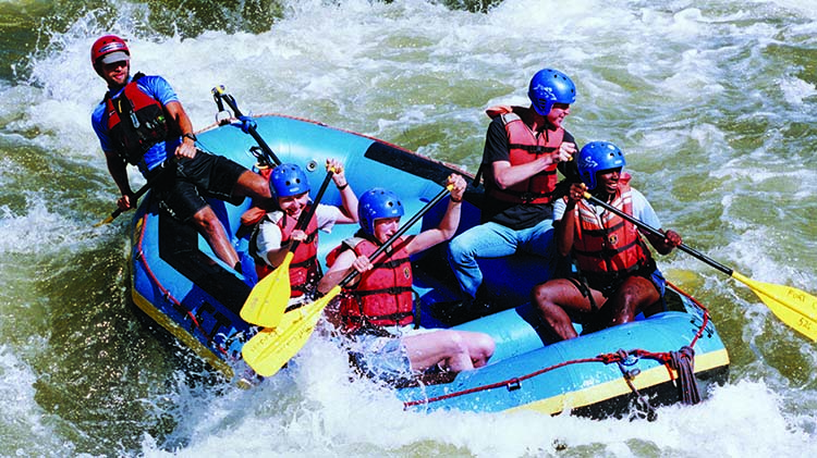 Whitewater Rafting: Float & Soak Trip