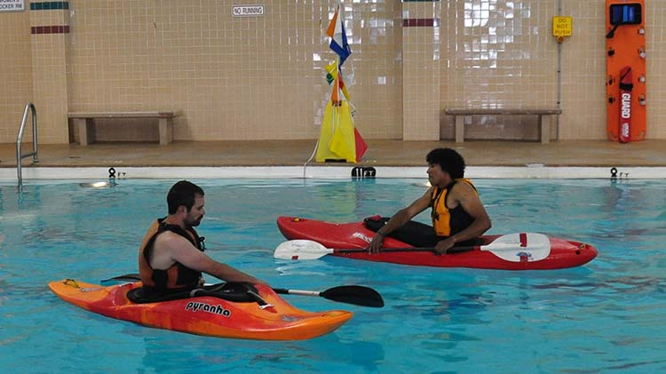 Kayak Pool Session
