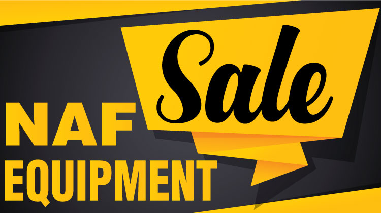 Fall  Haul: NAF Equipment Sale