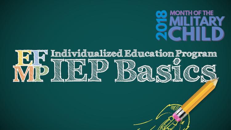 IEP Basics Workshop