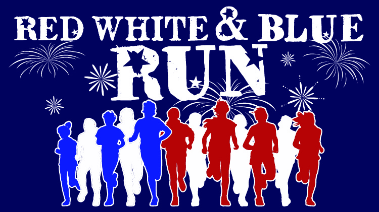 Red White and Blue Run at Fort Carson Freedom Fest