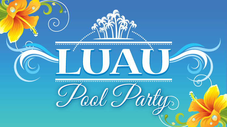 Luau Pool Party at Ellis Outdoor Pool