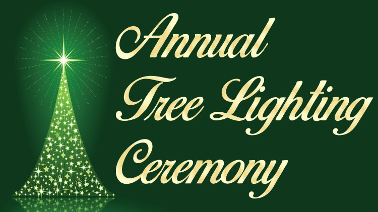 Save the Date: Holiday Tree Lighting Ceremony