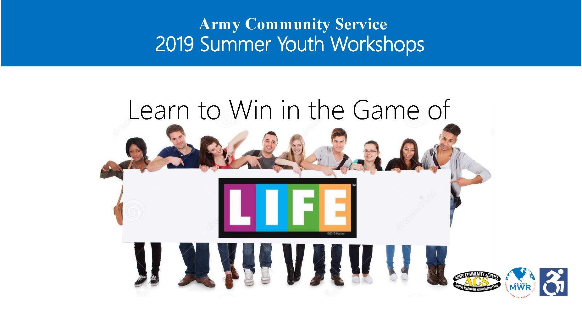 ACS Summer Youth Workshop--The Game of Life: Interactive Financial Literacy