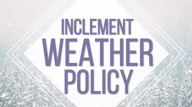 Inclement Weather/Post Closure/Phase In/Out