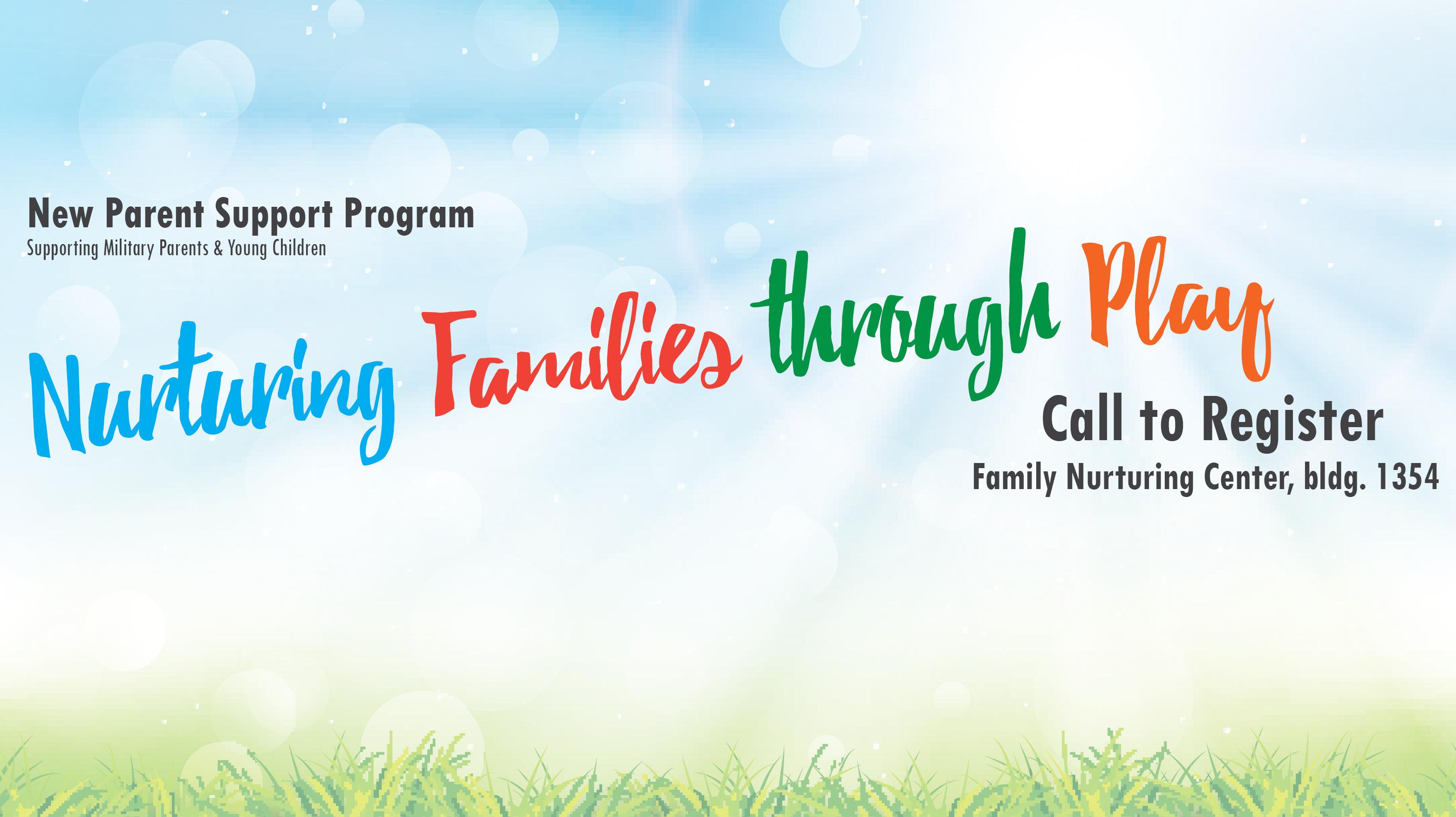 Nurturing Families Through Play