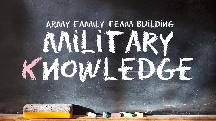 Breaking The Code ~ Army Family Team Building - K.1-K.3