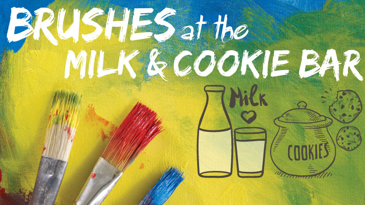Brushes at the Milk and Cookie Bar