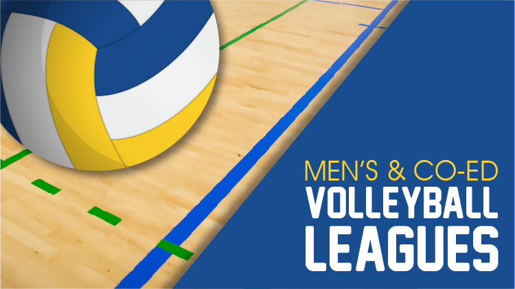 Men's and Co-Ed Volleyball League Registration