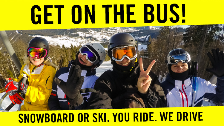 Get On the Bus: Ski & Snowboard Trips