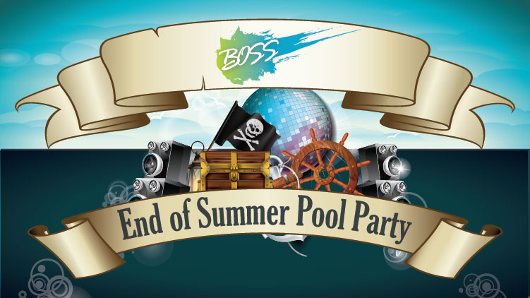 BOSS End of Summer Pool Party