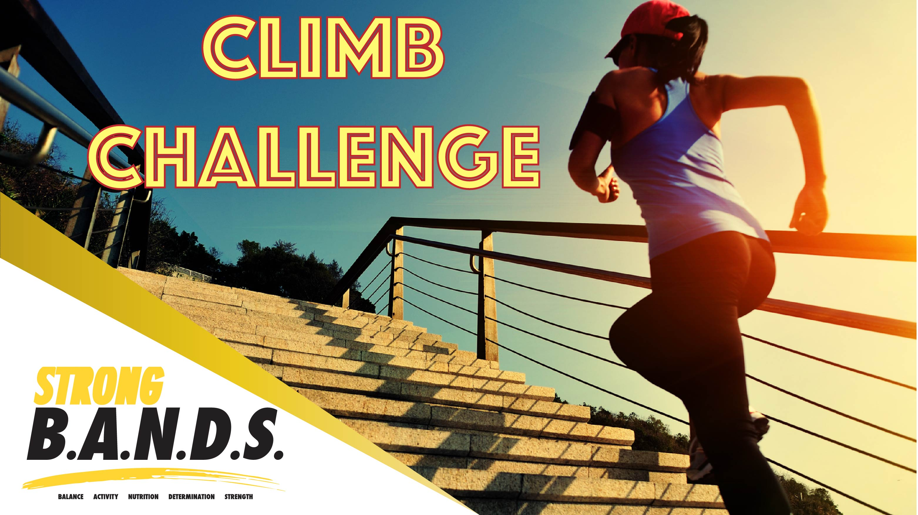 Strong B.A.N.D.S Climbing Challenge