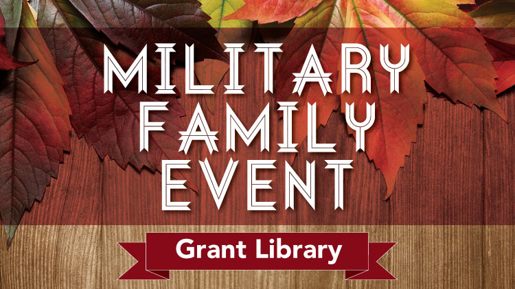 Library Military Family Event