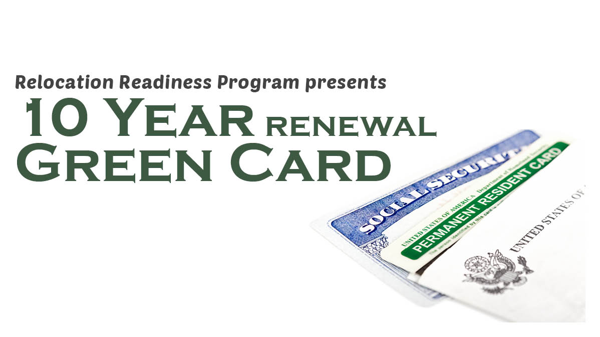 10 Year Green Card (Renewal)