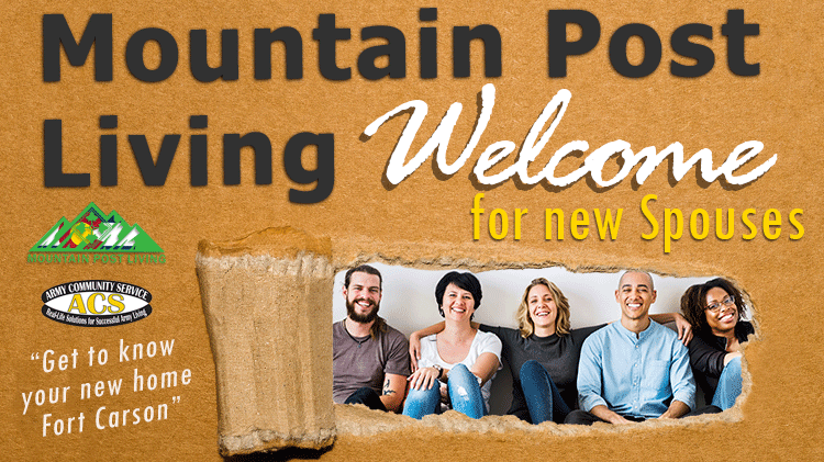 Mountain Post Living Welcome for new Spouses