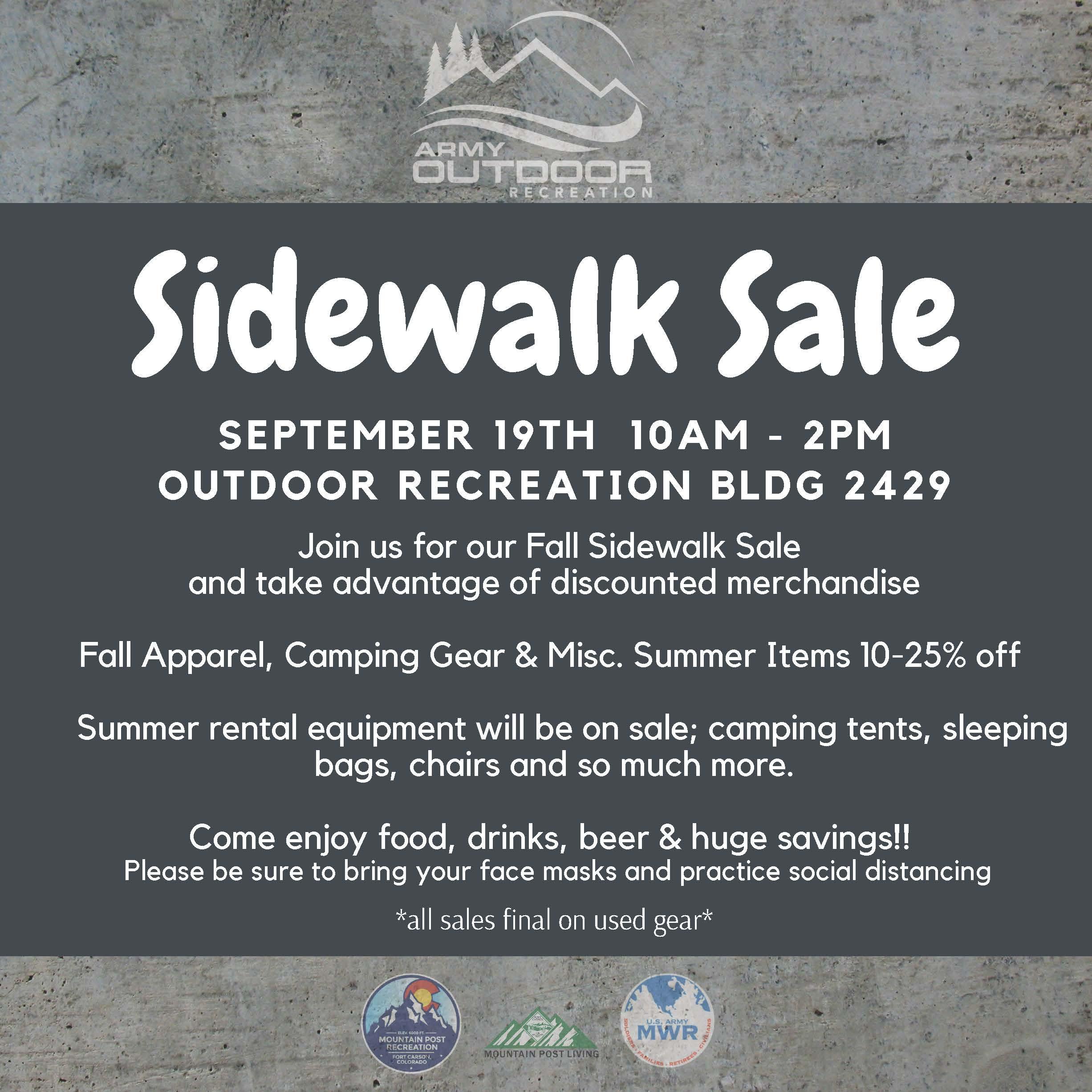 Fort Carson Sidewalk Sale.jpg