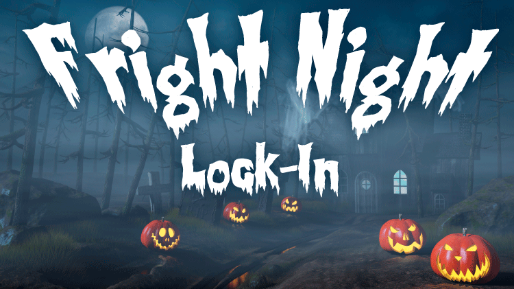 Youth Center Fright Night Lock-In