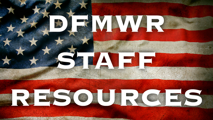 DFMWR Staff Resources