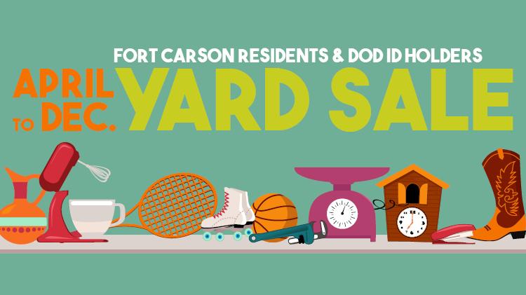 Fort Carson Yard Sale