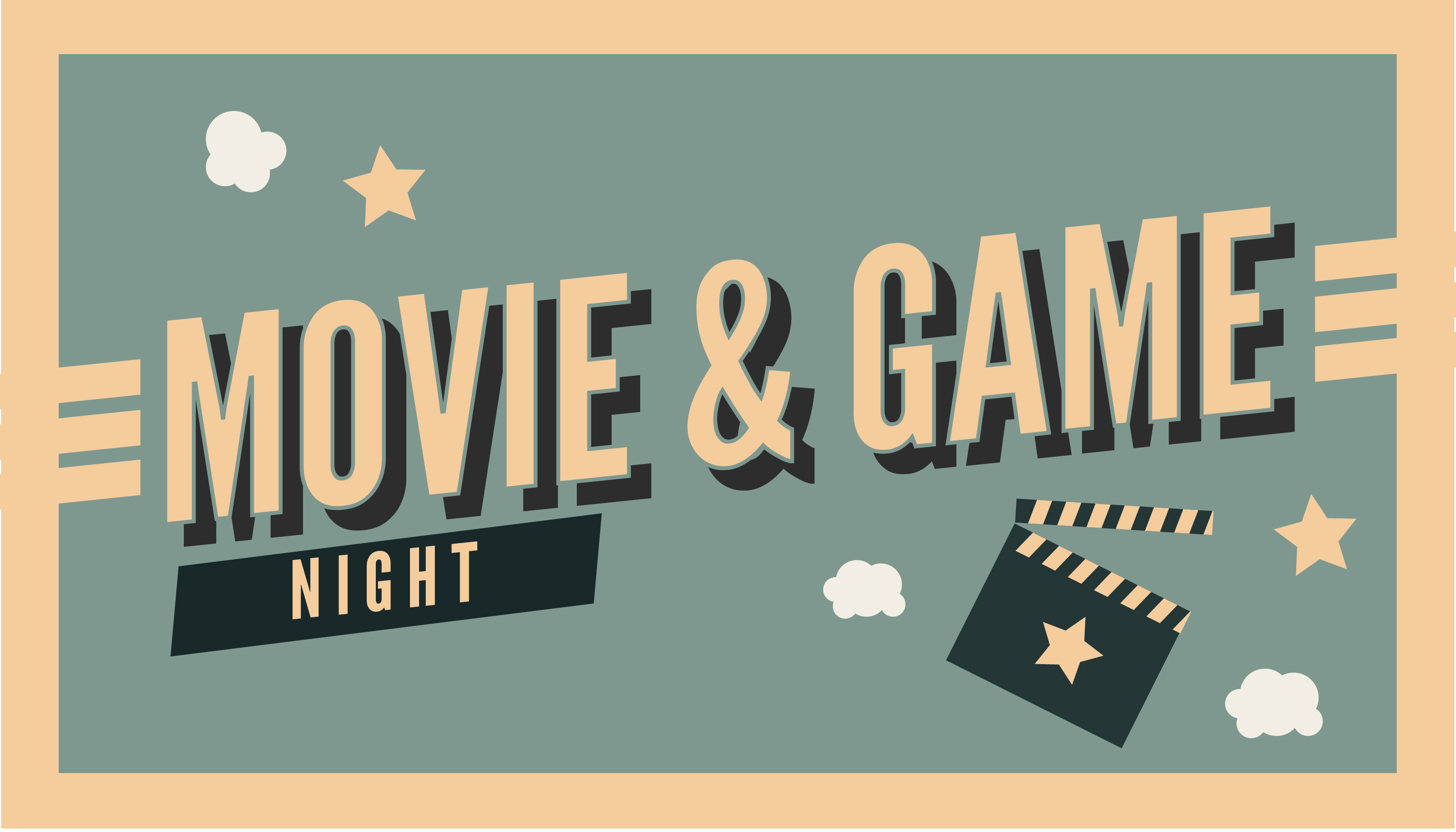 Save the Date: Movie & Game Night
