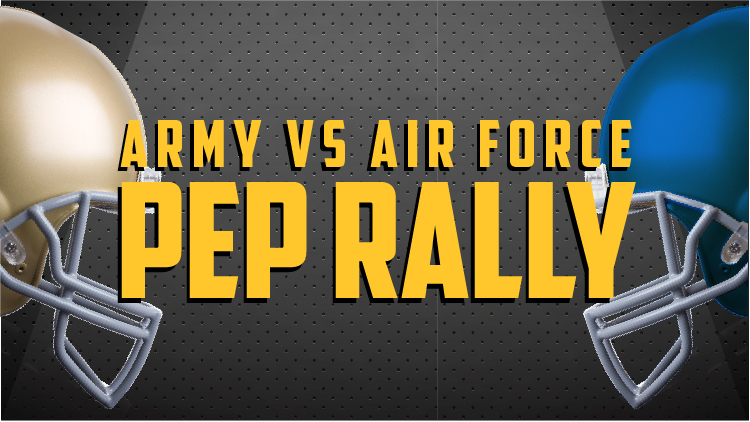 Army vs Air Force Pep Rally
