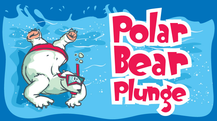 Polar Bear Plunge at the Outdoor Pool
