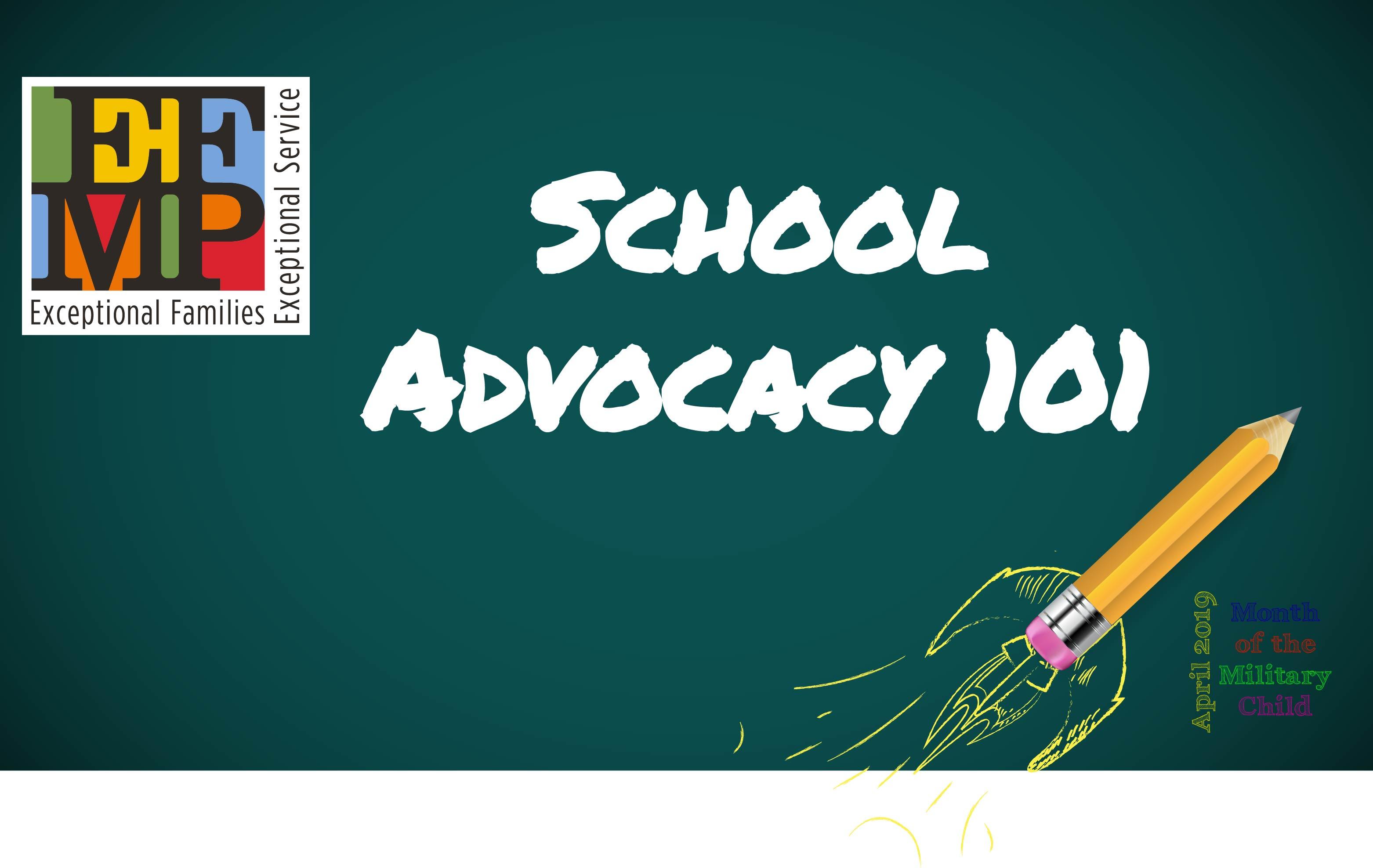 School Advocacy 101