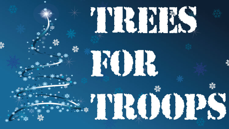 Save the Date: Trees for Troops