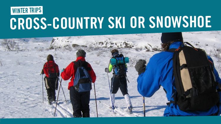 Cross-Country Ski or Snowshoe Trips